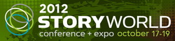 Logo for 2012 StoryWorld Conference