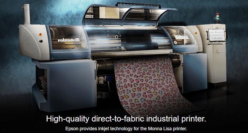 Monna Lisa Textile Printer