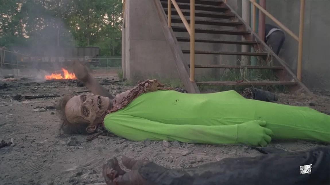 المؤثرات البصرية للموسم الثامن من مسلسل The Walking Dead