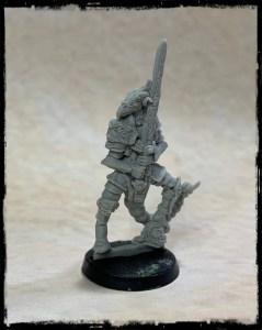 The Usurper Resin Miniature 42mm