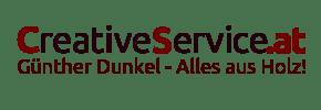 CreativeService · Alles aus Holz · Günther Dunkel · Küchen, Wohnzimmer, Restaurierung, individuelle Anfertigung