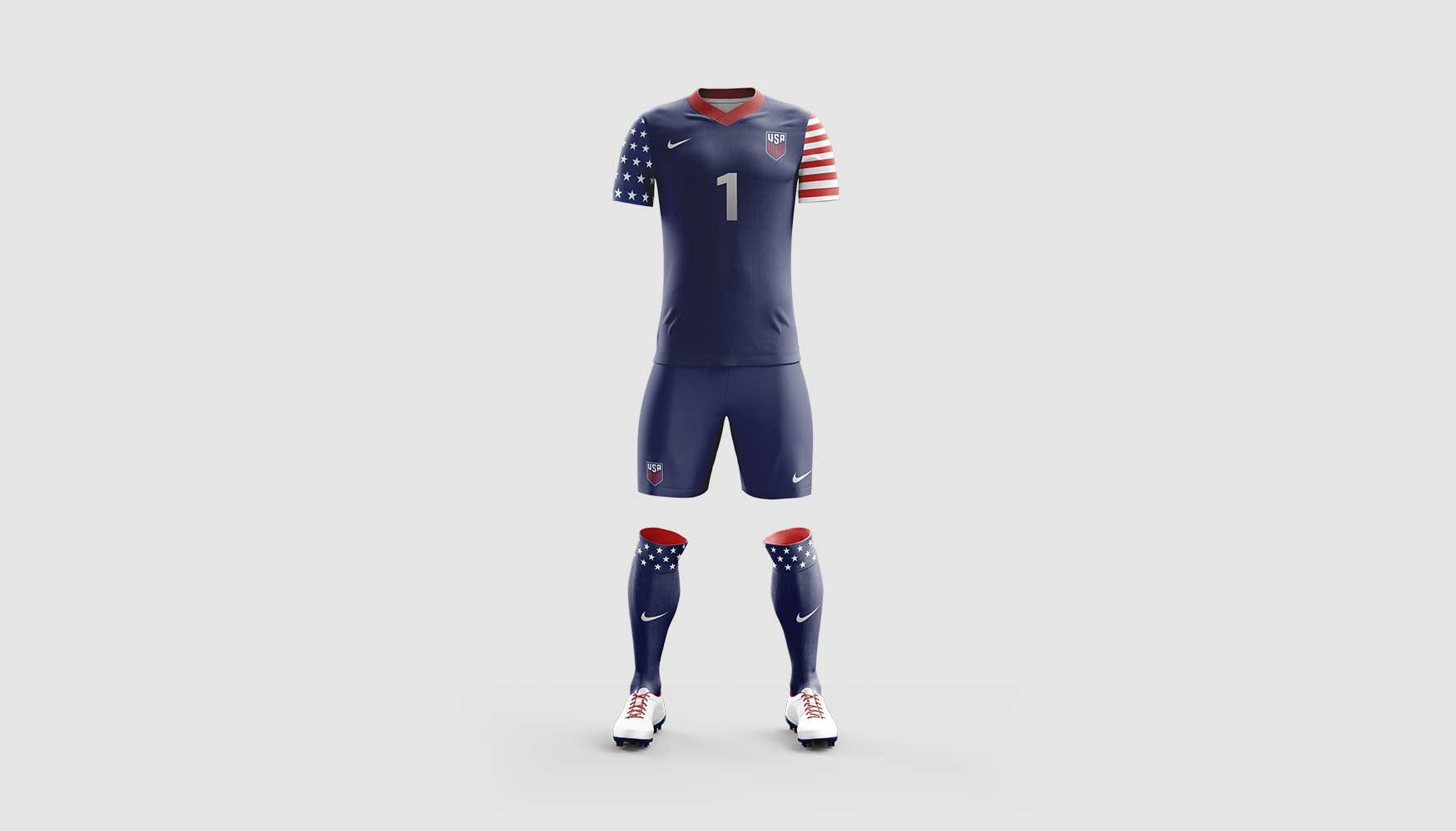 0e977cd20 ... Navy Nike USA Soccer Jersey Concept Navy Blue Nike Soccer Jersey  Concept Design Red Nike USMNT Soccer Jersey Design US Men s National Team  ...