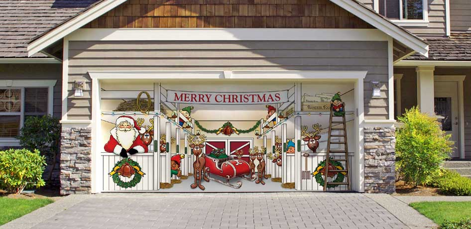 Top 5 Parts of Your Home You Need to Decorate This Christmas on Garage Decoration  id=11426