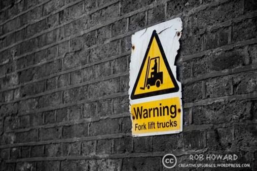 warning: forklifts