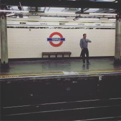 Waiting for a tube