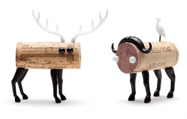 Diy: Cork Stopper Animals