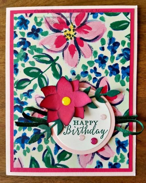 Garden Impressions Designer Series Paper, Detailed With Love Stamp Set, Four-Petal Flower Punch