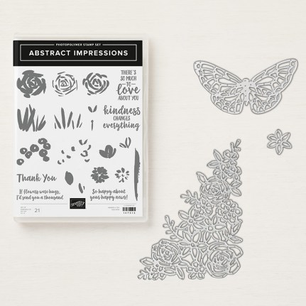 Garden Impressions stamp set