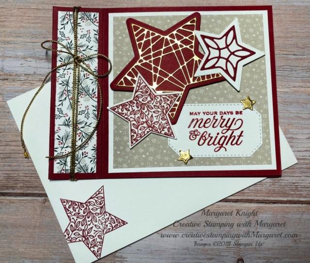 Christmas in July-Fun Fold Card