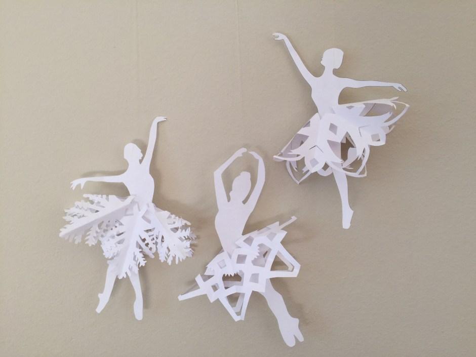 Snowflake dancers
