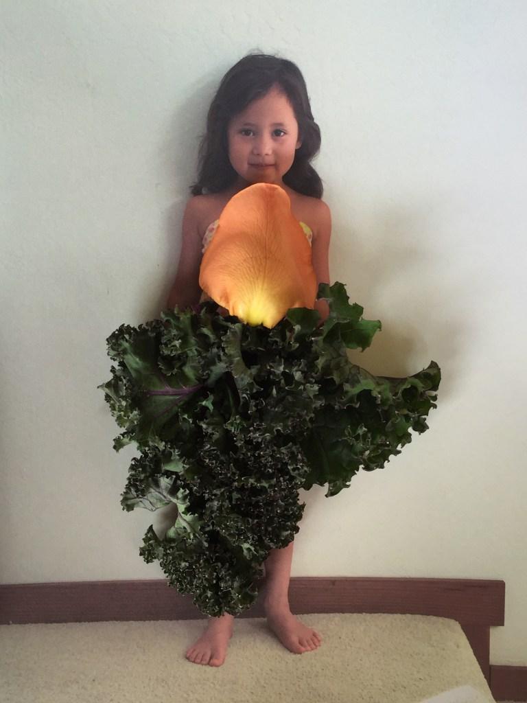 Petal Dress with Kale