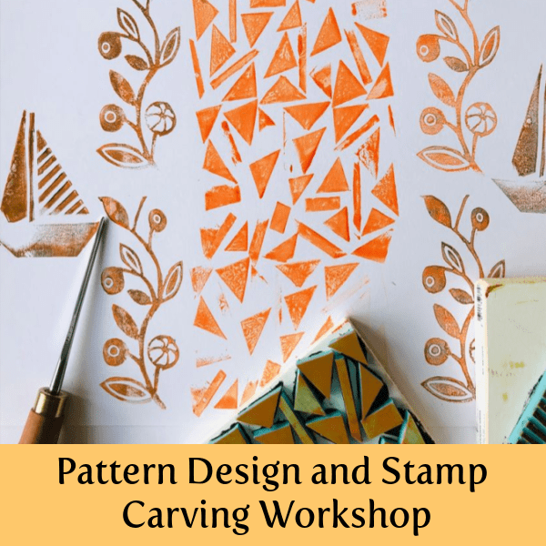 creative-switzerland-Pattern-Design-Stamp Carving-Workshop