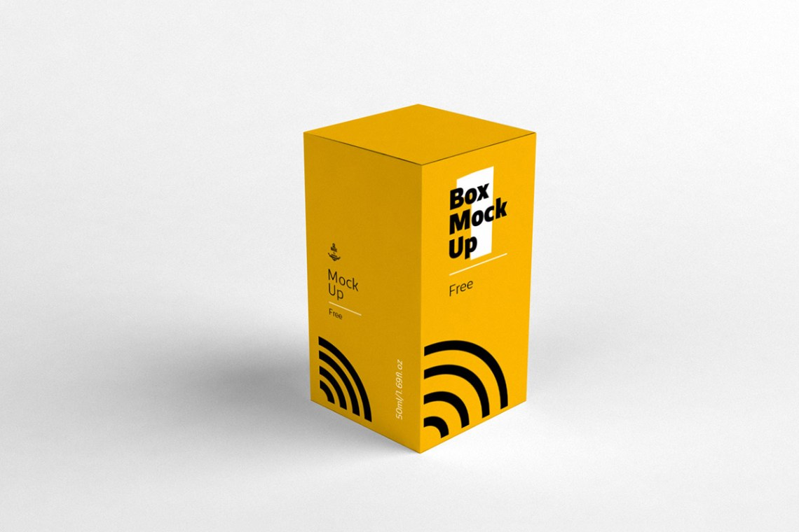 Download Free Paper Box Mockup ~ Creativetacos
