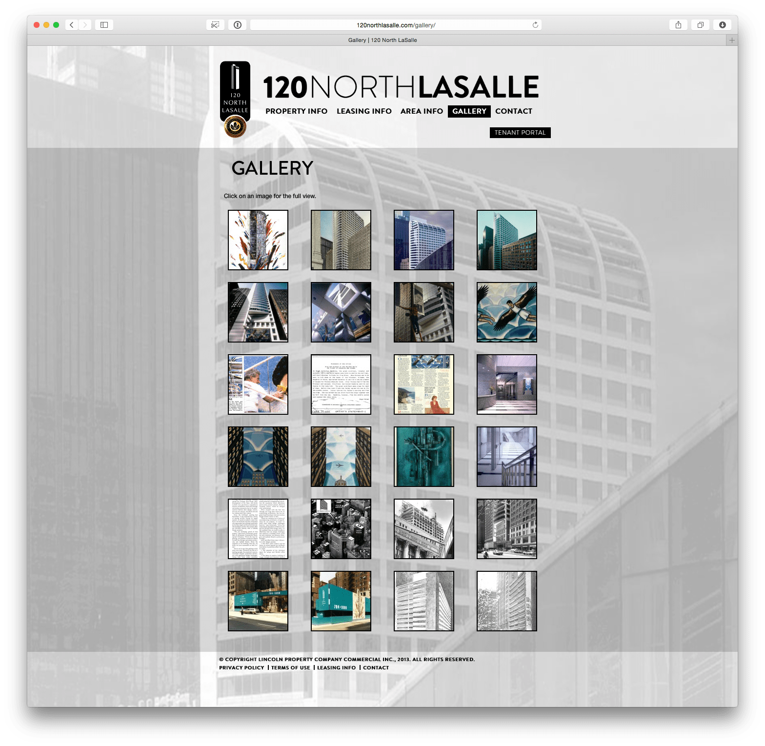 120NorthLasalle.com Gallery Page