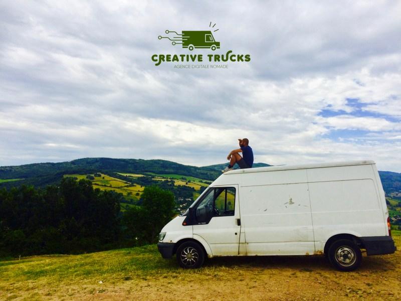 L'aventure continue avec le Creative trucks
