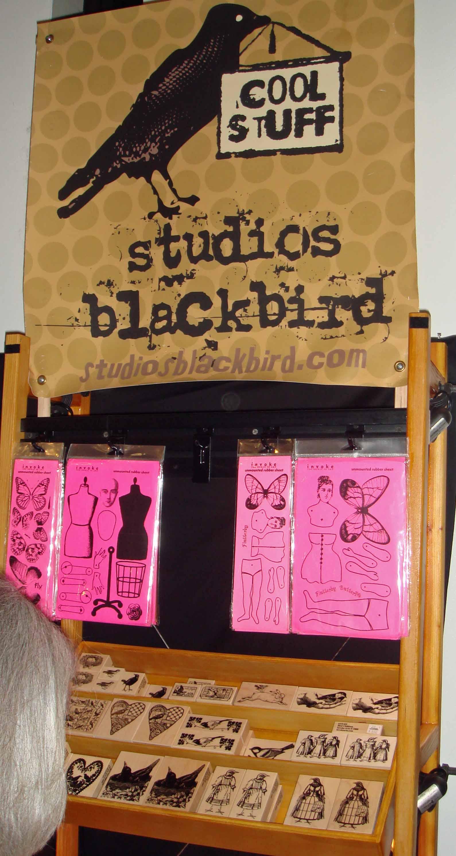 carson studio blackbird sign