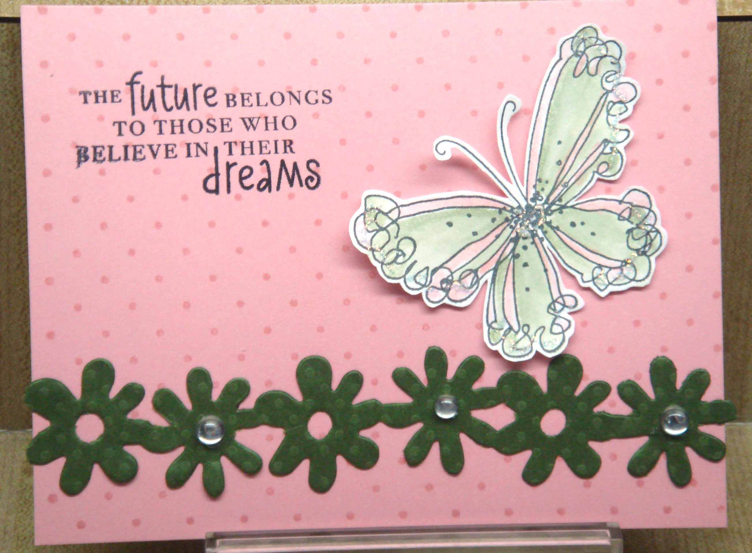 borders bazzill butterfly card1