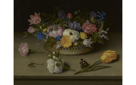 Flower Still Life by Ambrosius Bosschaert the Elder, 1614