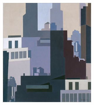 Canyons by Charles Sheeler in 1951