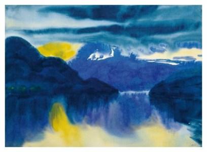 Lake Lucerne by Emile Nolde in 1930