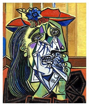 Weeping Woman by Pablo Picasso in 1937