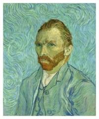 Self Portrait by Vincent Van Gogh in 1889