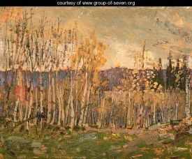 Poplars by Arthur Lismer