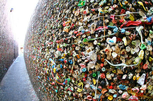 gum sticking alley