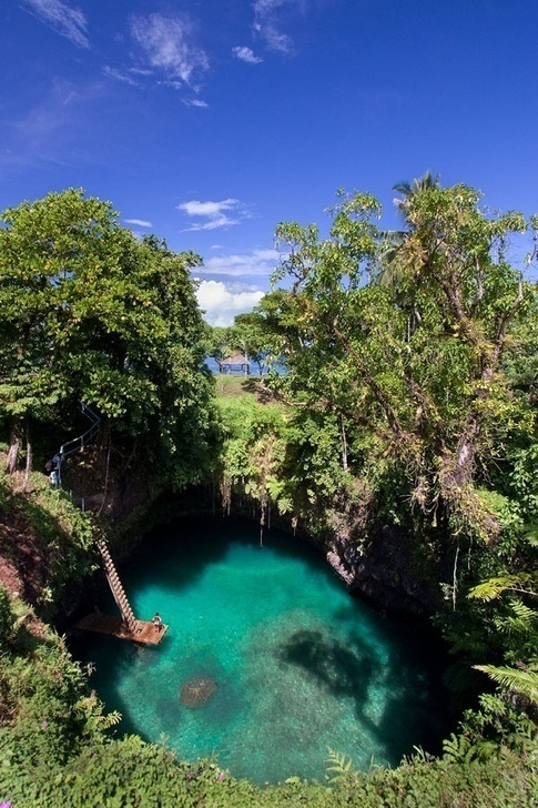 The Sua Trench in Samoa
