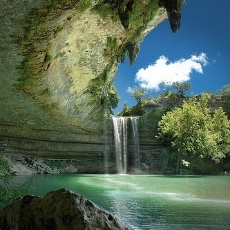 Hamilton's Pool in Austin, TX