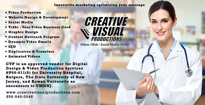 creative visual productions ad
