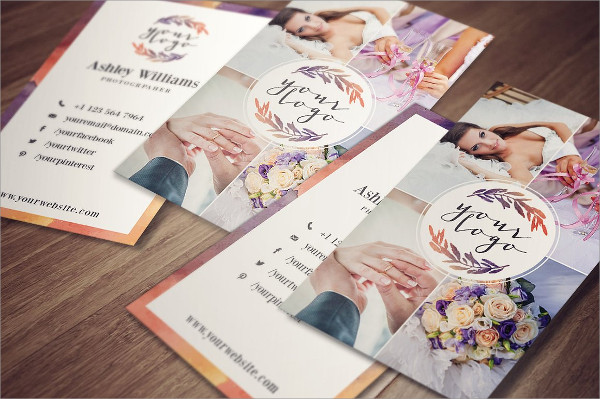 Elegant Watercolor Business Card