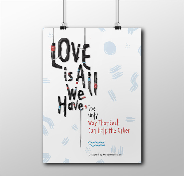 Poster Love Quotes