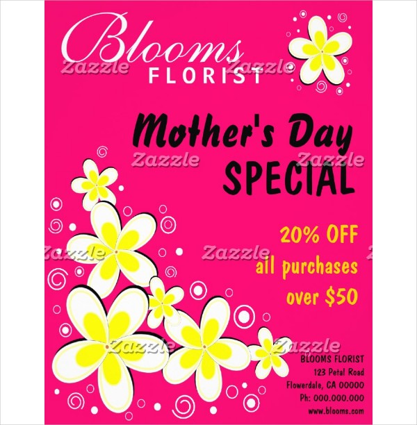 Special Mother's Day Flyer