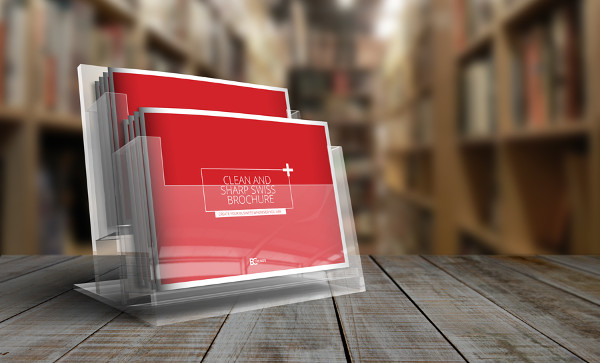 Photorealistic Horizontal Brochure
