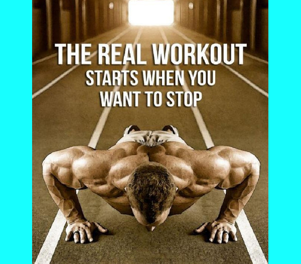The Real Workout Starts