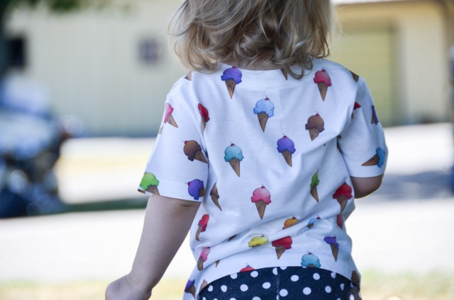 ice cream tee by alley and rae designs