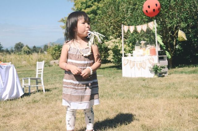 Summer party celebration themed party