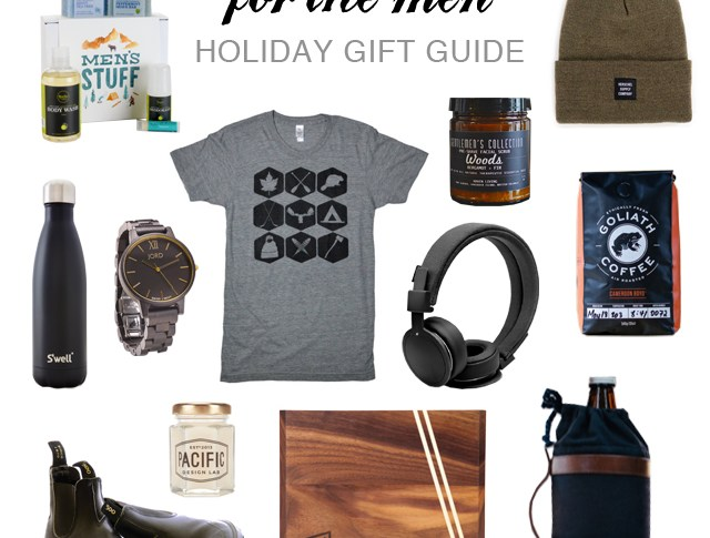 mens holiday gift guide and giveaway