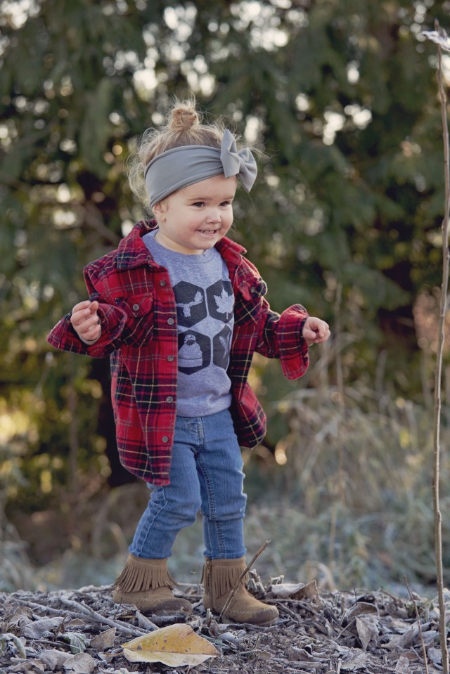 Toddler girls casual style post