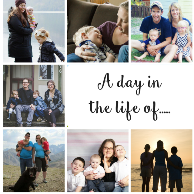 A Day in A Life Posts for Mothers