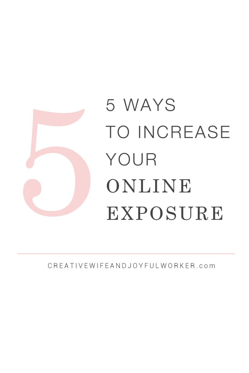 5 Ways to Grow Your Blog for New Bloggers by Creative Wife and Joyful Worker