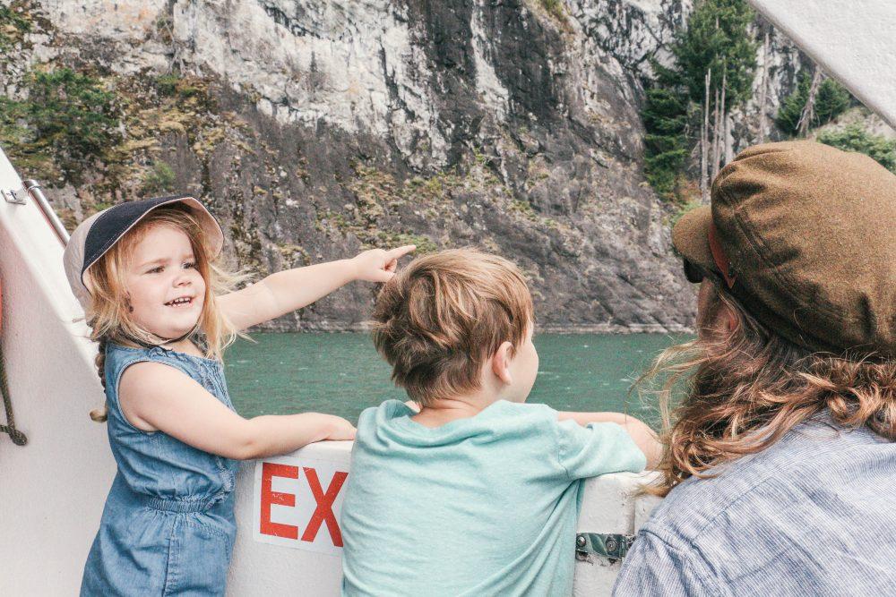 Shoreline Tours View at Harrison Lake