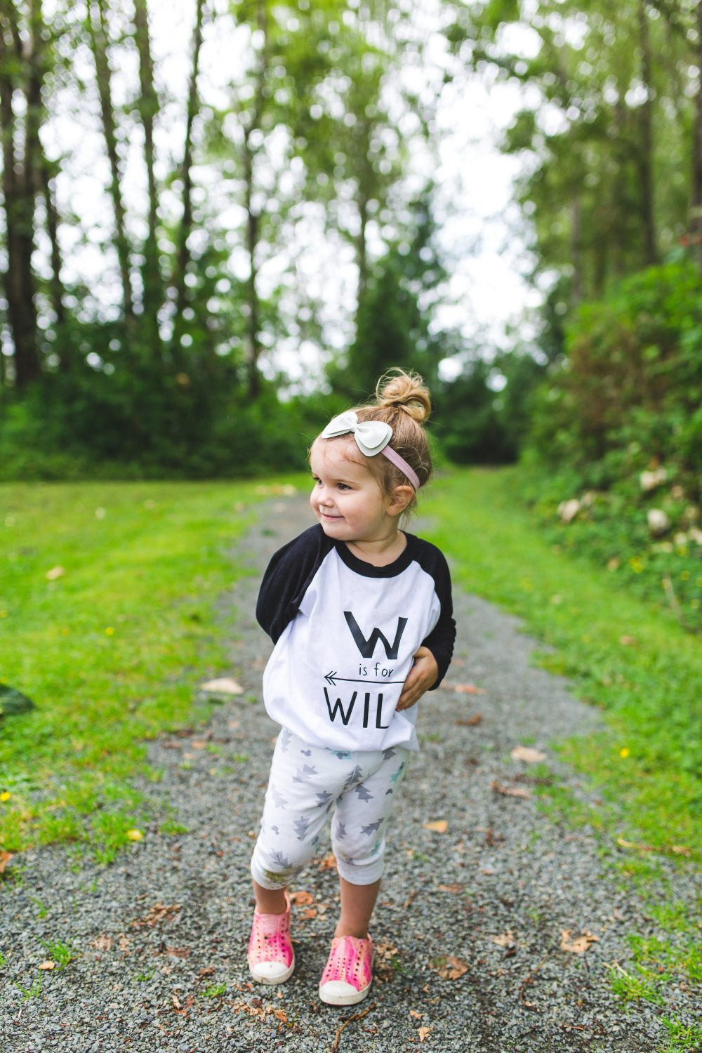 W is for Wild Kids Tshirt by The Blue Envelope