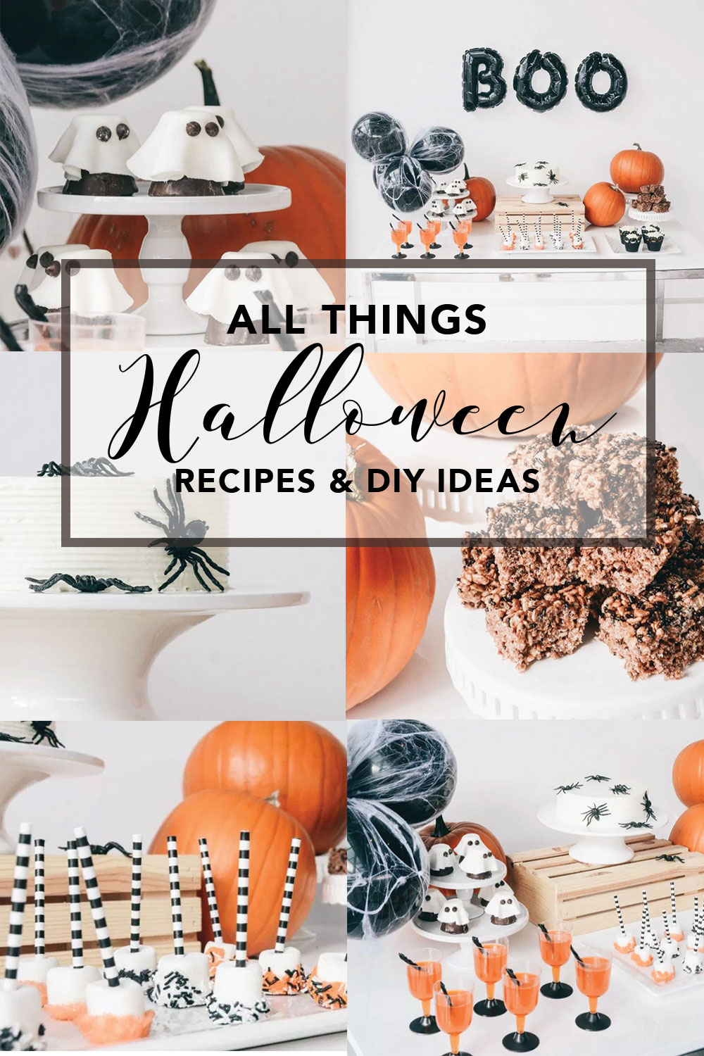 Halloween Themed Party Recipes and DIY Ideas | Decor Inspiration for a Halloween Party