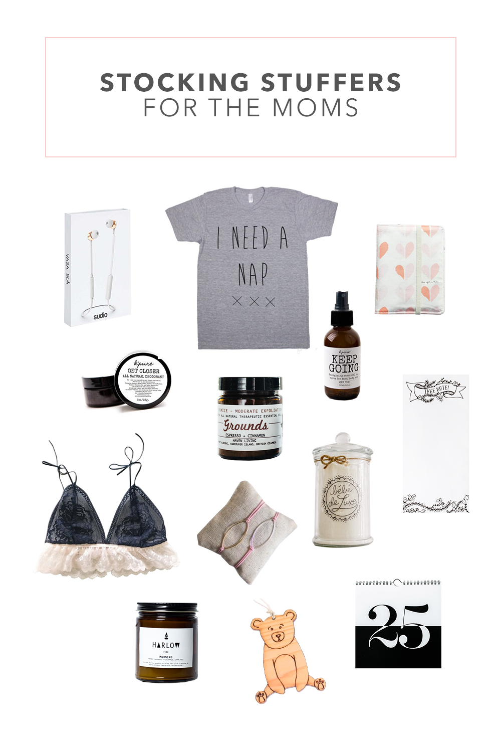 Stocking Stuffer Ideas for Moms in our Lives | Female Stocking Stuffers | Gifts for Ladies