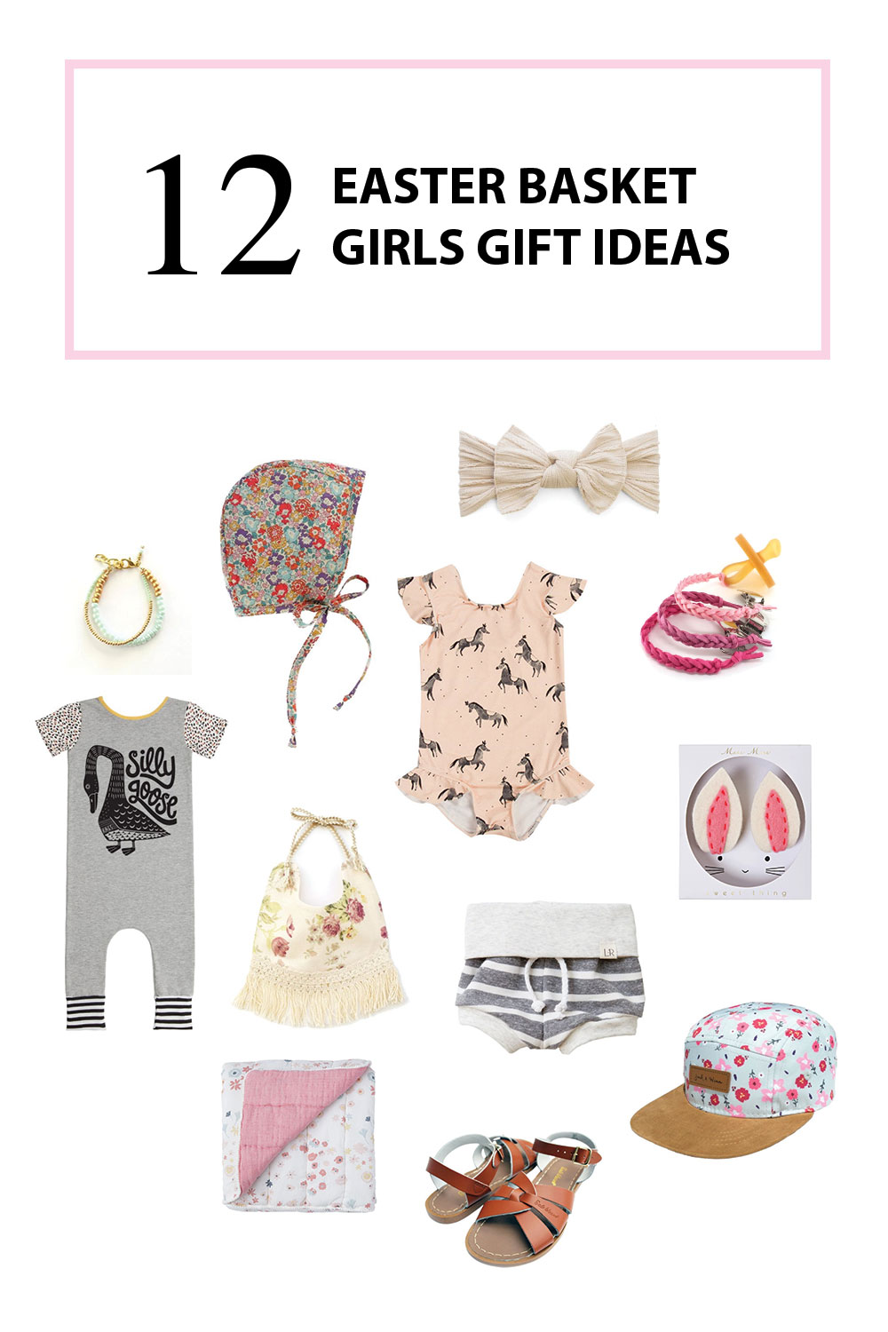 Girls Easter Basket Gift Ideas | The Baby Cubby
