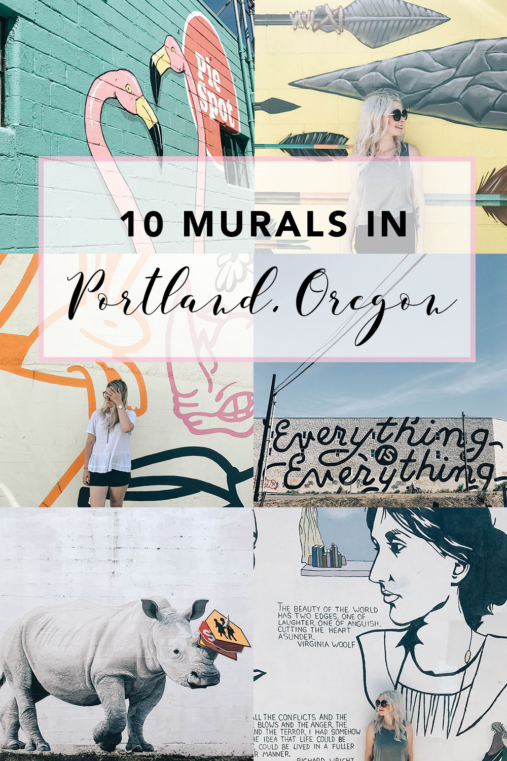 10 Murals In Portland Oregan