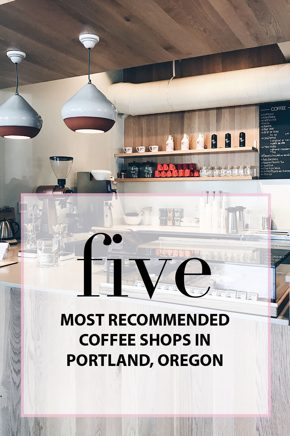 Most Recommended Portland Coffee Shops