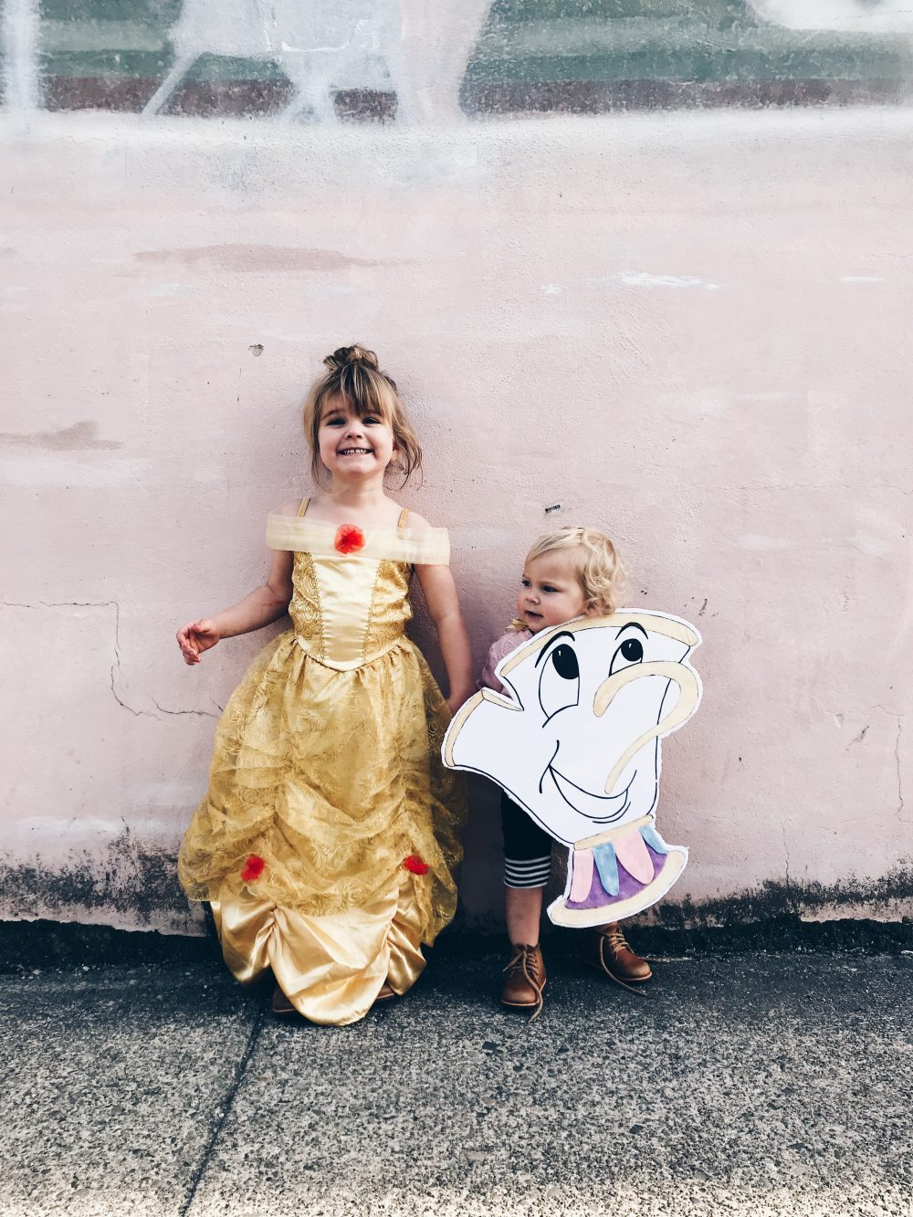 Belle and Chip from Beauty and the Beast | Halloween Costumes 2017